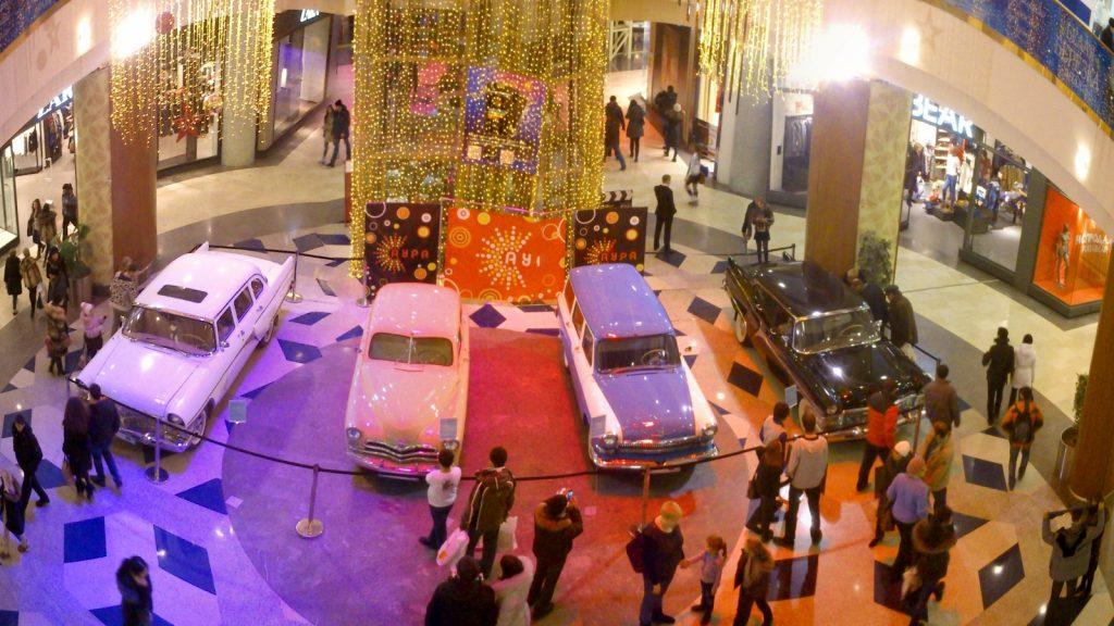 Выставка ретро автомобилей в АУРЕ