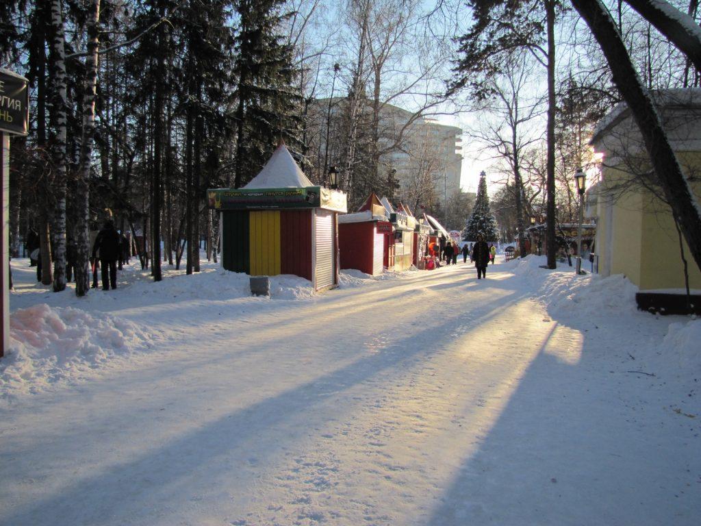 Зимний Новосибирск 2016 (Фото)