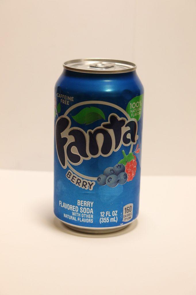 Ягодная Фанта (Fanta Berry)