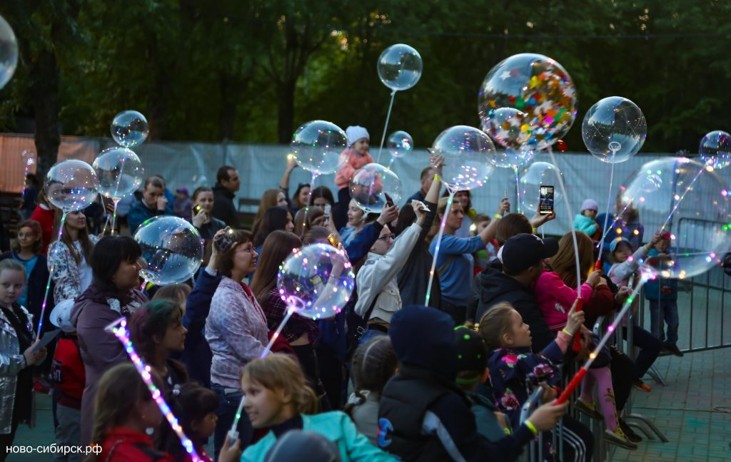 Фестиваль волшебных шаров 2 июня 2019 видео