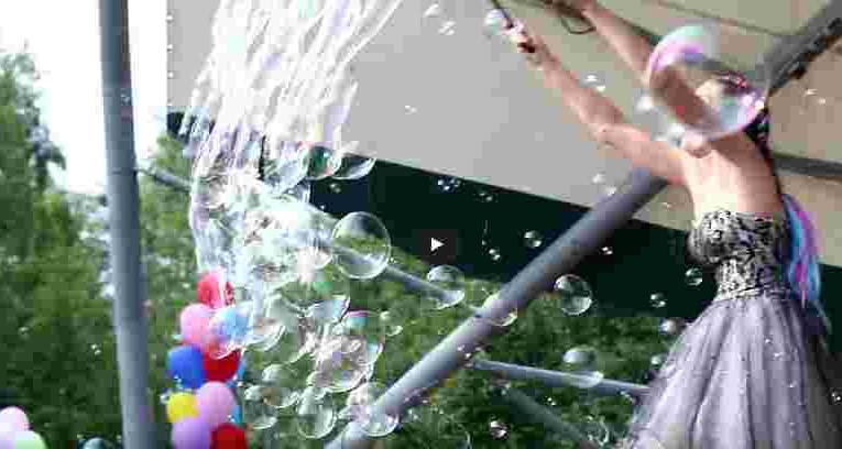 Мыльные пузыри (фест в парке Кирова)